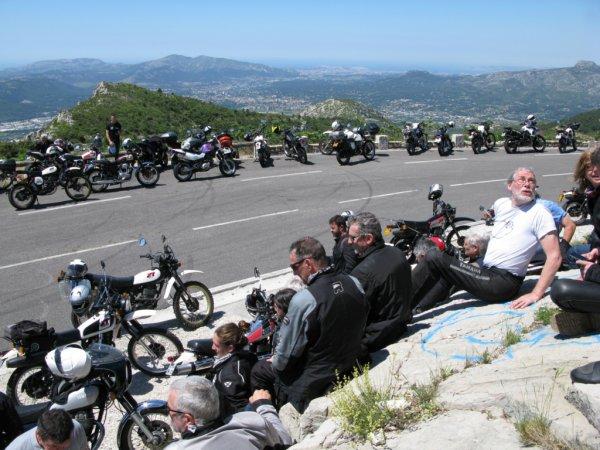 Rencontre Yamaha XT500 2019 à Cuers