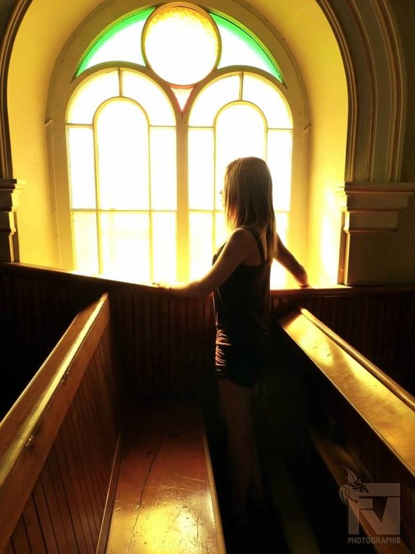 Dans une église !