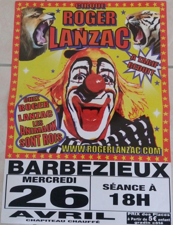 cirque roger lanzac a barbezieux
