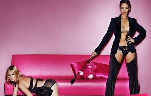 Photoshoot de Rihanna avec Kate Moss pour « V Magazine »