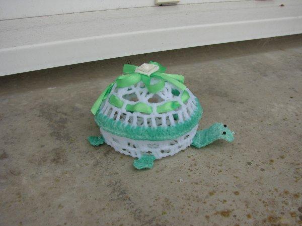 tortue au crochet !