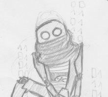 ah la la ... décidement je suis jamais motivé pour dessiner...