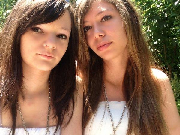 Moi et ma meilleure amie ma s½ur Sarah ❤