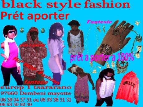 Black  style fashion
