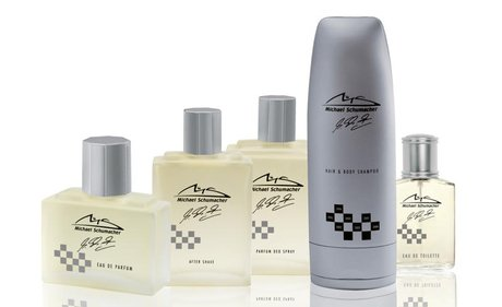 Les parfums de Michael Schumacher