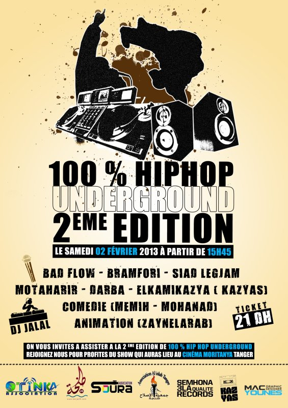 100 % HIPHOP UNDERGROUND 2eme EDITION