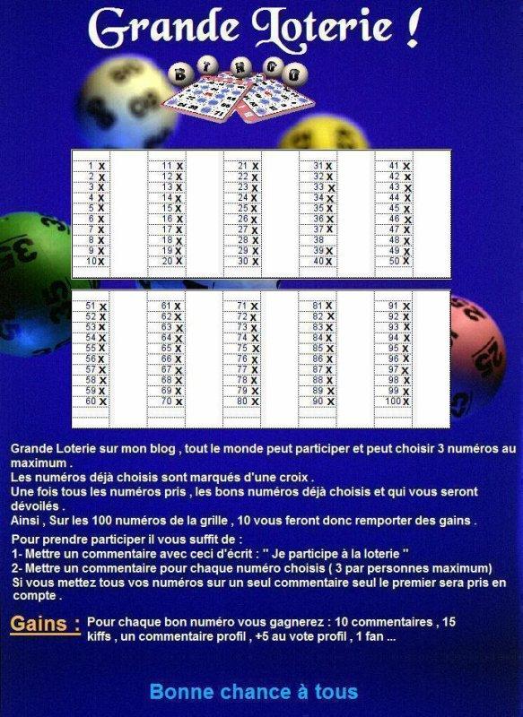 Grande Loterie !!
