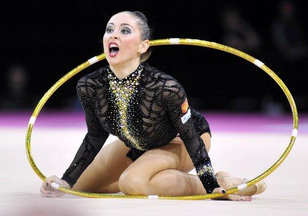 Daria Kondakova quitte les praticables...