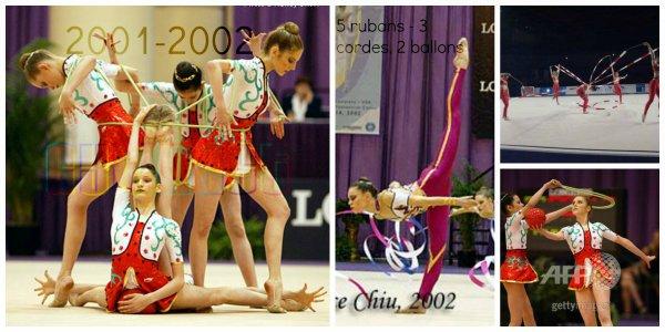 Les ensembles France, de 1997 à 2002