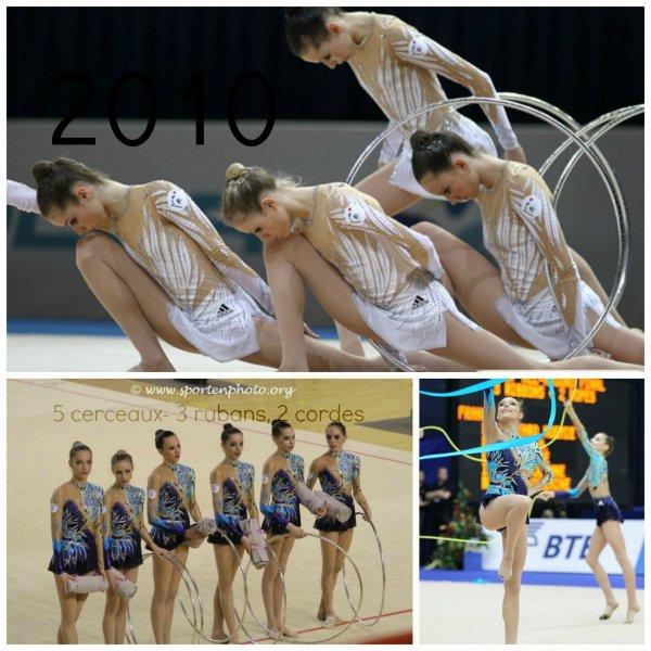 Les ensembles France, de 2003 à 2013