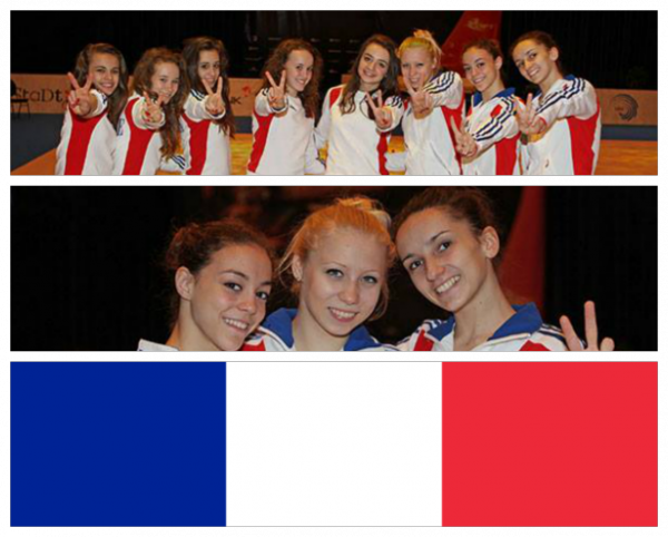 Championnat d'Europe à Vienne 2013 - France