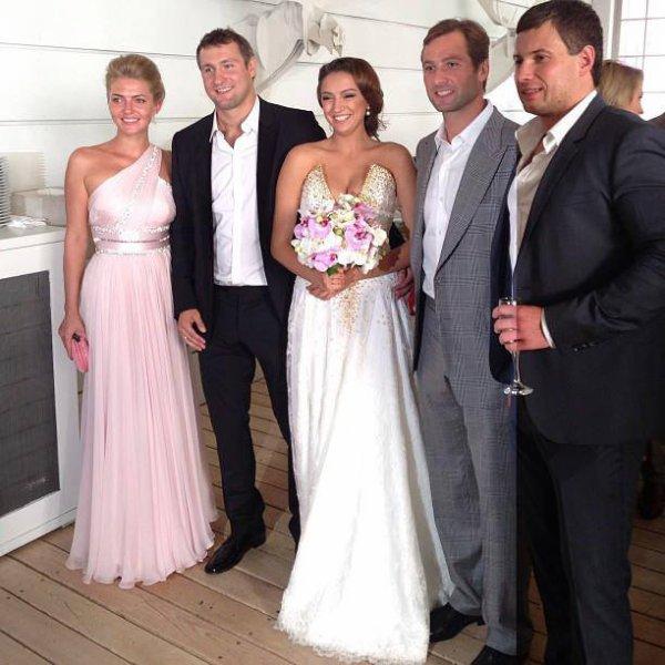 Mariage d'Evgenia Kanaeva