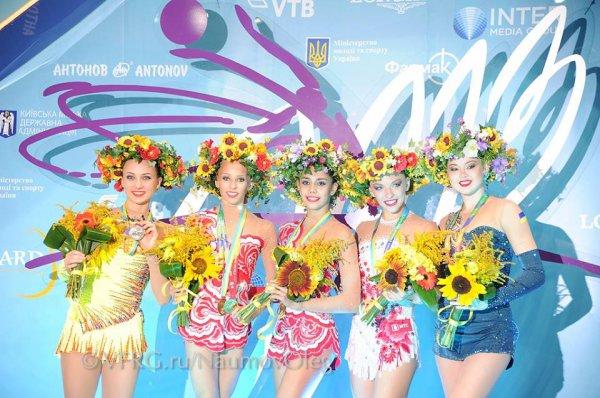 Kiev 2013 - Podiums individuelle
