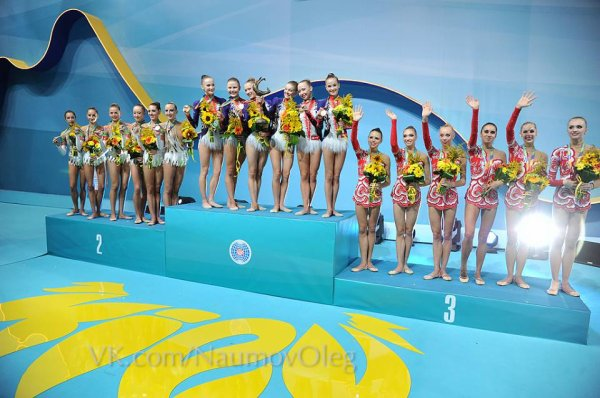 Kiev 2013 - Podiums ensemble