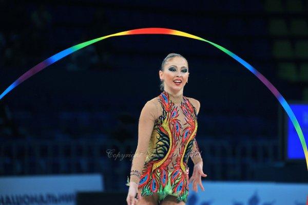 Une couleur, un justo, un engin, une gymnaste... un enchainement