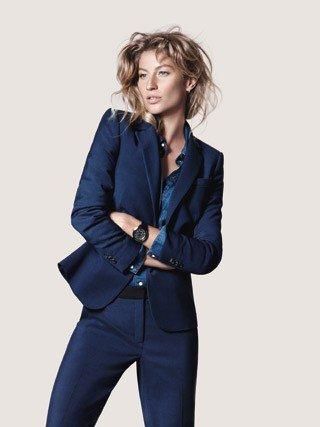 Mode : Gisele Bündchen, future maman très glamour pour Esprit !