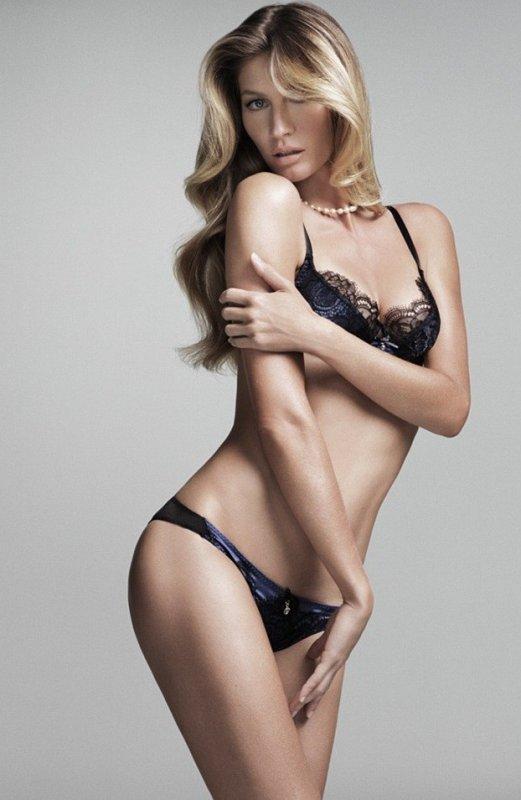 Mode : Gisele Bundchen prend la pose pour sa nouvelle collection de lingerie !