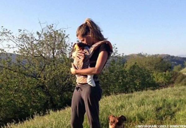 Photos : Gisele Bündchen : direction New York avec bébé Vivian !