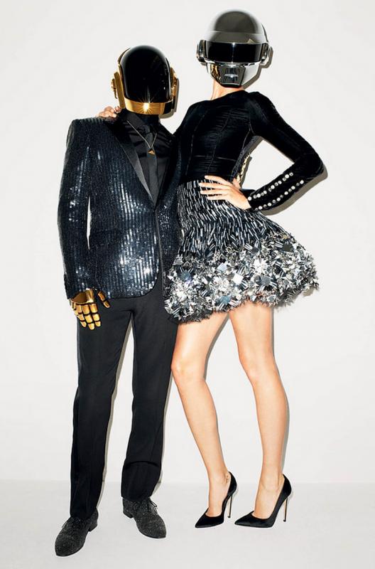 Daft Punk et Gisele Bündchen, par Terry Richardson