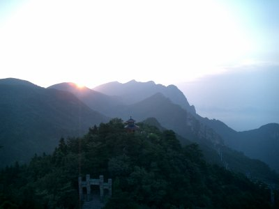 Le paysage à la chinoise