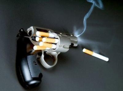Le pistolet pour  poumon