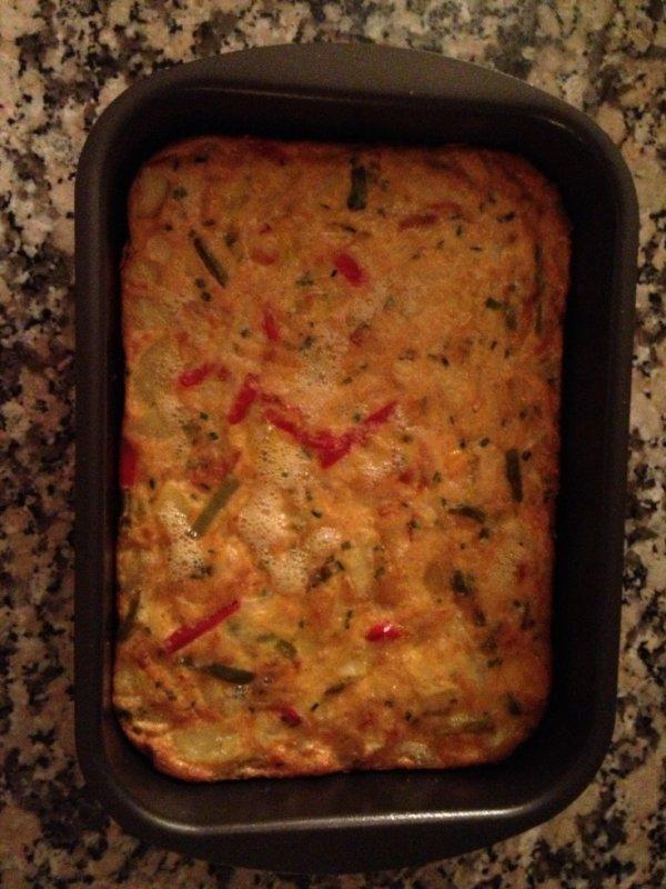 Tortilla aux legumes du soleil