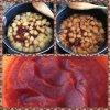 Compote de pommes et fraise vanillées