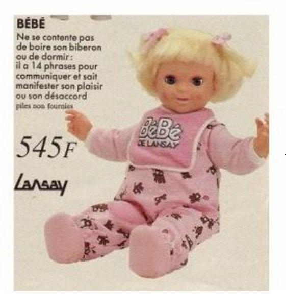 bébé de Lansay Galoob