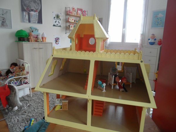 maison les little mattel