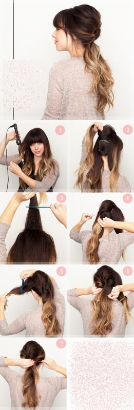 Quelques tutoriels coiffures.