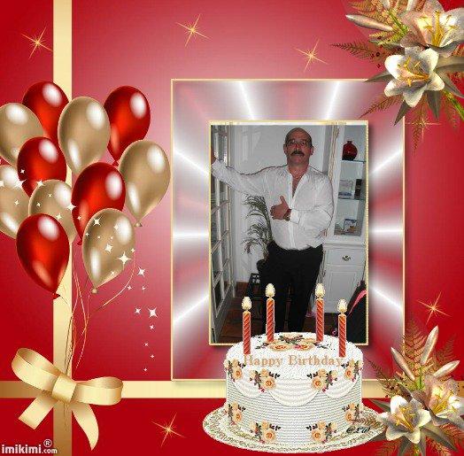 tres beau kdoo d anniversaire pour les 53 ans de mon homme de la part de ....notre fille de coeur  Laure.. demain en rentrant de son travail,  sur son pc a lui il va avoir la surprise