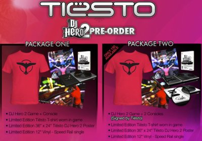 Signed Tiësto/DJ Hero 2 Bundles Available Now!