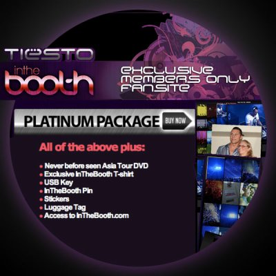 In The Booth Fan Club - Platinum Package