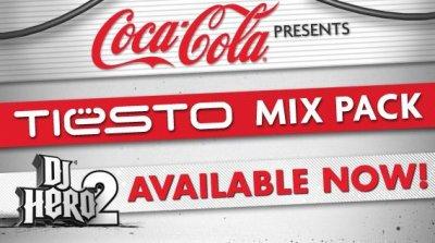 Tiesto Mix Pack annoncé par Coca Cola