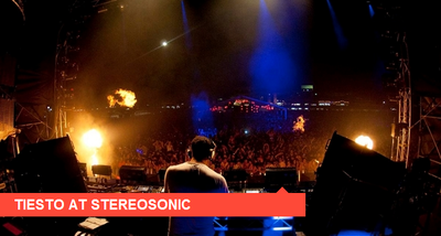 Tiesto / Interviews Stereosonic en 2010