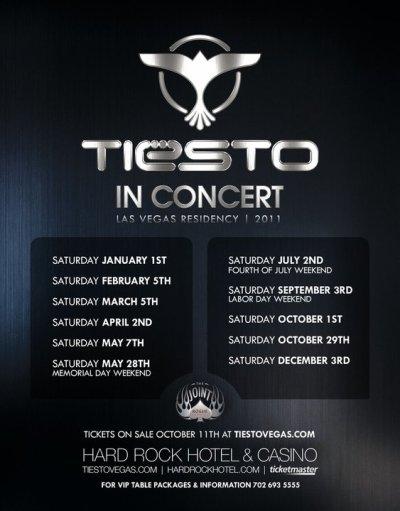 Tiesto In Concert Las Vegas Residency / 2011