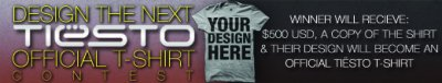 Design An Official Tiësto T-Shirt