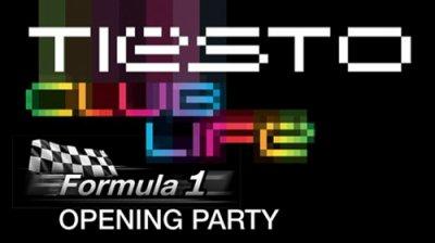 Parti Tiësto Ouverture F1