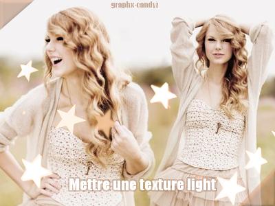 Mettre une texture light
