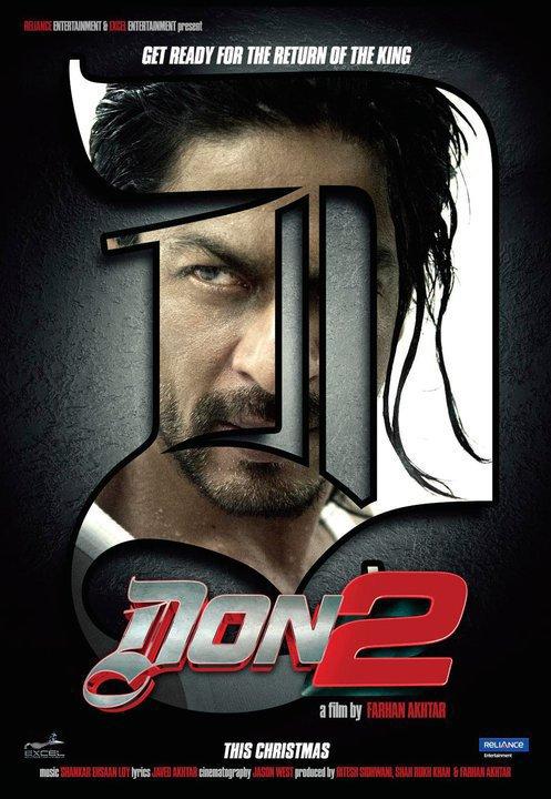 2011 Shahrukh Khan In Don 2.(l) $)
