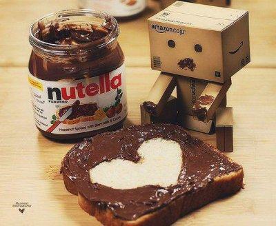 Le nutella . une histoire d'amitié !!!
