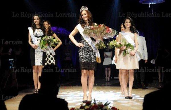 Miss Moselle 2015 - Diane Lambert !