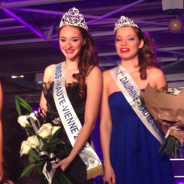 Johanna Martin - Miss Haute-Vienne 2015 !