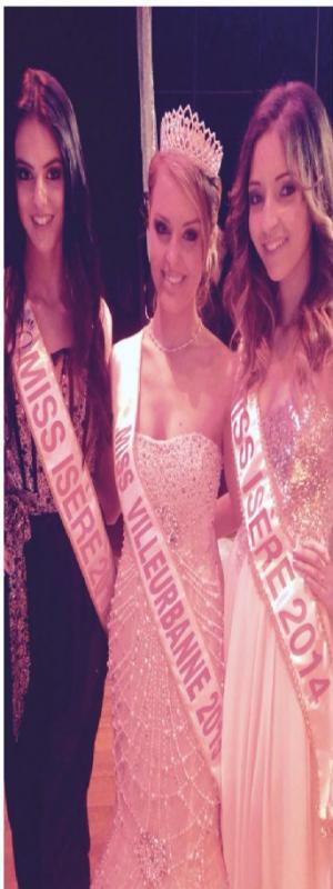 Tiphanie Lacroix - Miss Villeurbanne 2015 !