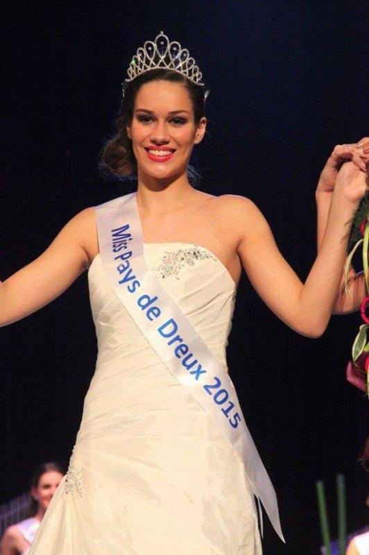 Margaux Bourdin - Miss Pays de Dreux 2015 !