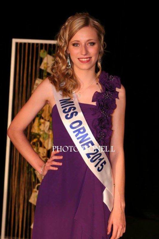 Lucile Dubois - Miss Orne 2015 !