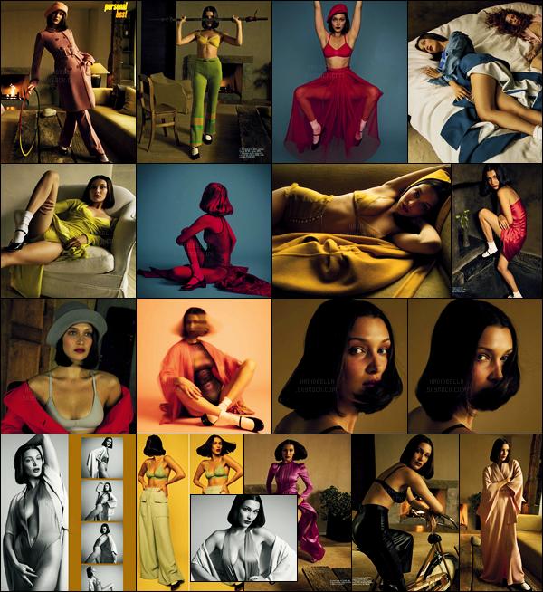 Bella Hadid fait la couverture du magazine « Vogue Italia » du mois de Juin