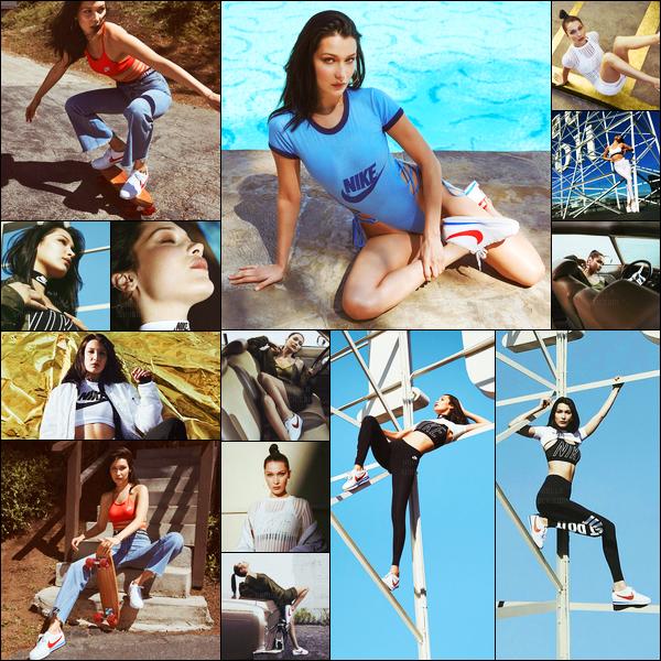 Découvrez le photoshoot pour « Nike Cortez » dont Bella Hadid est l'égérie.