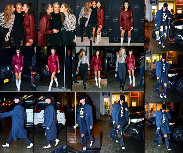 11.01.2018 ─ Bella Hadid était présente lors de l'avant-première «Making A Model With Yolanda» dans New York.Evidemment en compagnie de sa maman et de sa soeur Gigi. Plus tôt, la belle mannequin a été photographiée dans les rues à NY. Ses tenues sont tops !