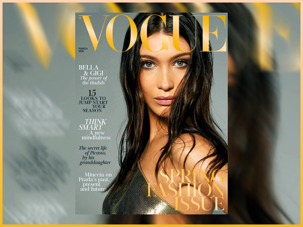 Bella Hadid fera la couverture du magazine « Vogue UK » du mois de Mars !